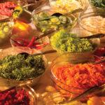 Salatbuffet im Biohotel Schwarzwald
