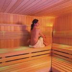 Relaxen Sie bei einer angenehmen Temperatur im Sanarium im Schwarzwald Wellnesshotel Alpenblick