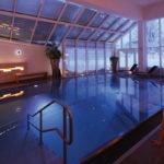 Entspannung pur bietet der Solepool im Bio- & Wellnesshotel Alpenblick in Höchenschwand im Schwarzwald