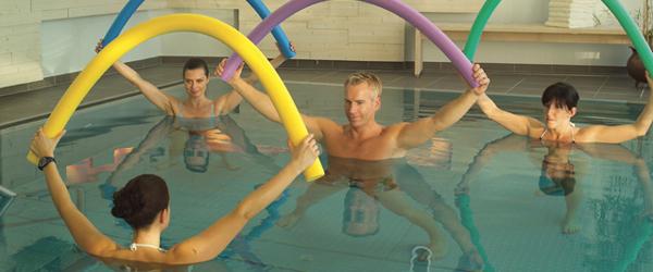 tägliche Wasserqymnastik im Schwarzwald Hotel