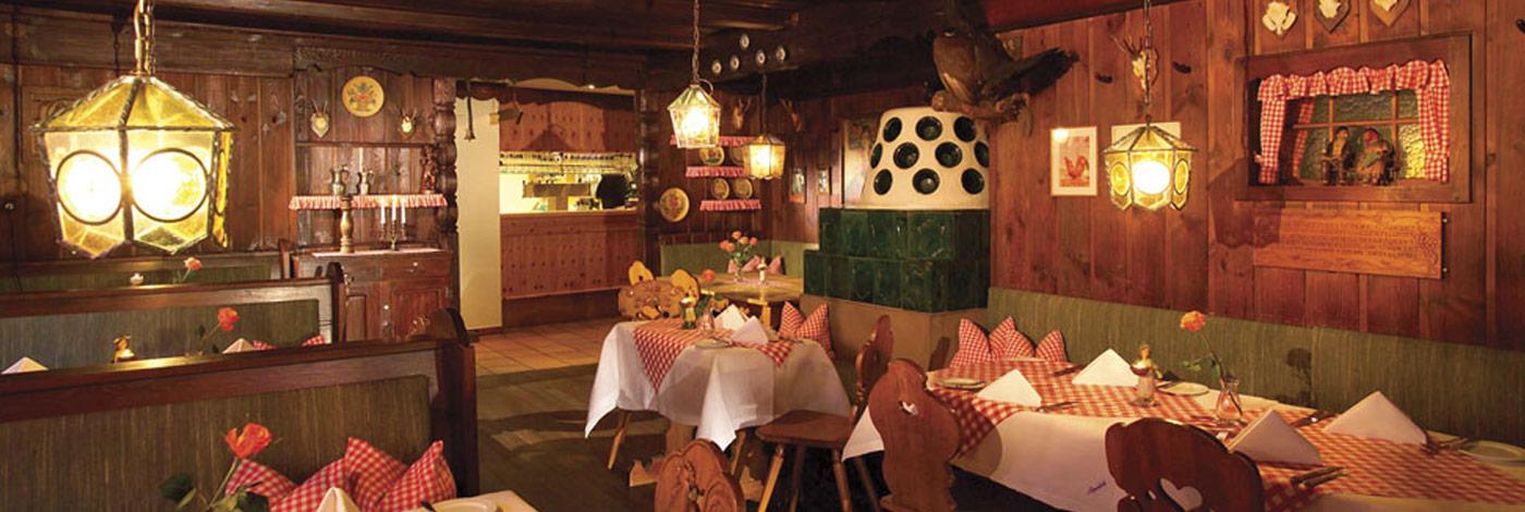 Schwarzwald Stube Kulinarik im Alpenblick Restaurant