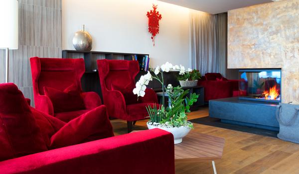 Genießen Sie den Abend in der Lounge im Schwarzwald Hotel Alpenblick