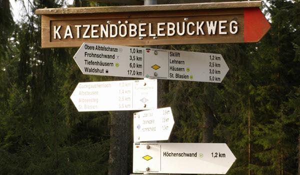 Wandertouren im Südschwarzwald